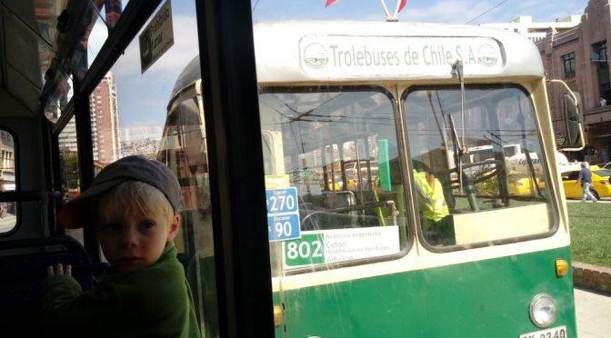 Autobusem przez Chile