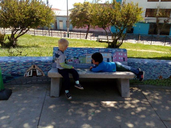 Dzieci w Chile