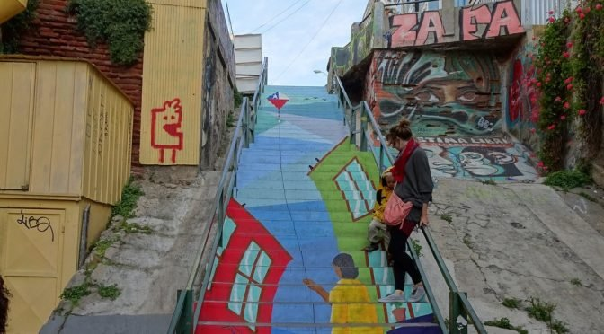 atrakcje Valparaiso murale