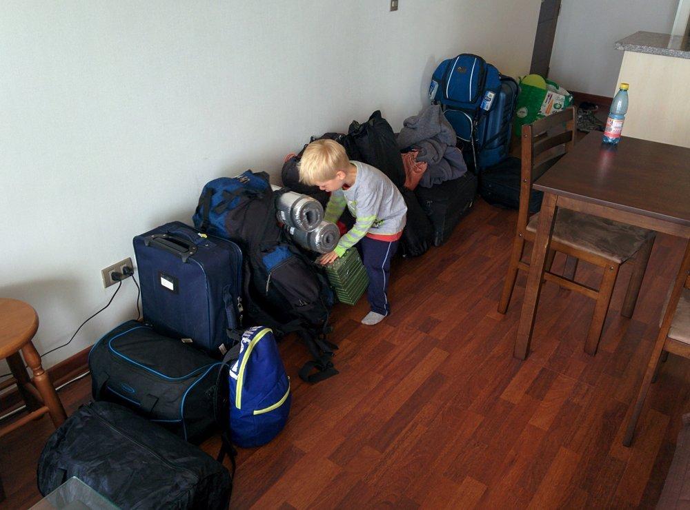 tyyle bagaży