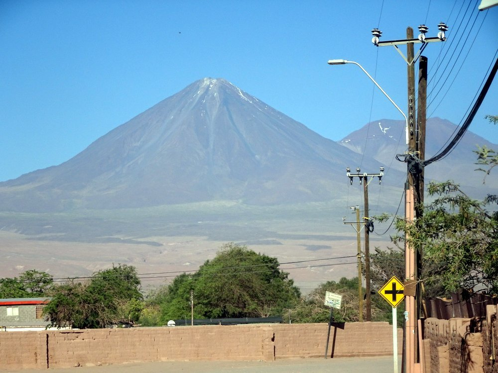 wulkan Licancabur okolice San Pedro de Atacama